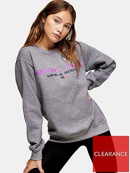 topshop-tall-sports-club-sweatshirt-grey