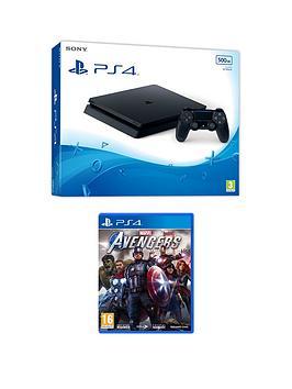 PlayStation 4 500GB - Black