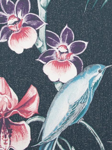 julien-macdonald-utopia-navy-wallpaper