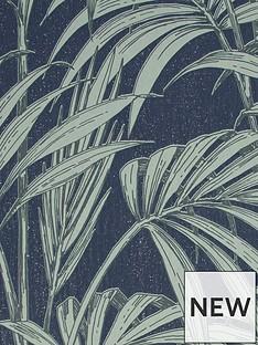 julien-macdonald-honolulu-navy-wallpaper