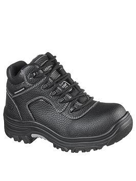 skechers-padded-collar-composite-toe-boot--nbspblack