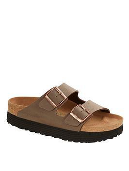 Birkenstock Papillio By Birkenstock Grooved Wedge Sandals - Brown