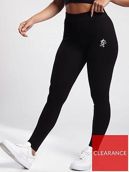 gym-king-ribbed-leggings-black