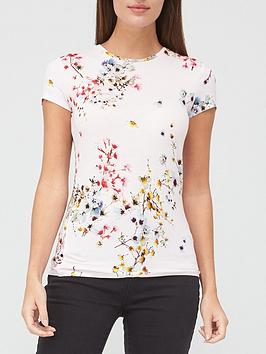 ted-baker-printed-shirt-pale-pink