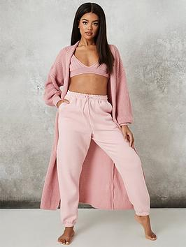 missguided-missguided-maxi-batwing-cardigan-rose