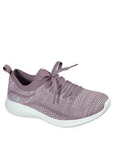 skechers-ultra-flex-stretch-fit-deco-lace-slip-on-trainer-lavendernbsp