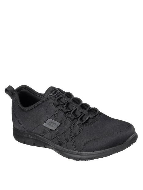 skechers-slip-on-bungee-athletic-shoe-with-gore-andnbspwater-and-stain-repellent-upper--nbspblack