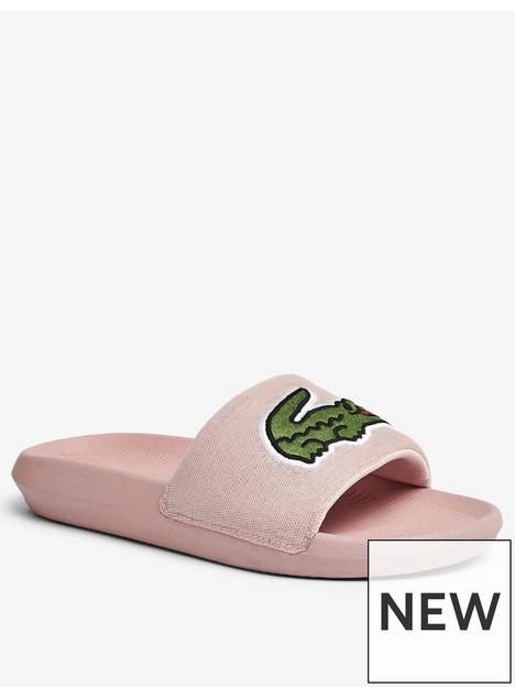 lacoste-croc-slide-flat-sandals-pink