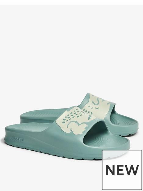 lacoste-croc-slide-flat-sandal-blue