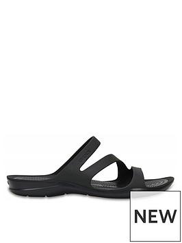 crocs-swiftwater-flat-sandal--nbspblackblack