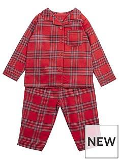 mamas-papas-unisex-baby-woven-check-pyjamas-multi