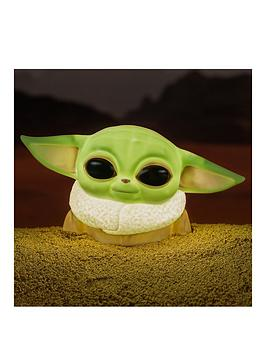 Product photograph showing The Child Baby Yoda Desktop Light