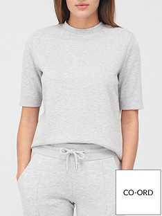 v-by-very-paddednbspshoulder-t-shirt-grey