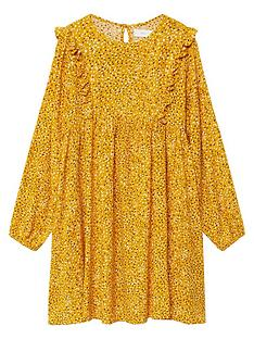 mango-girls-spotty-frill-dress-mustard