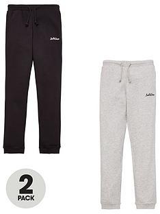 jack-jones-junior-boys-2-pack-logo-joggers-blacklight-grey-marl