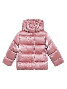 mango-girls-metallic-padded-coat-pink