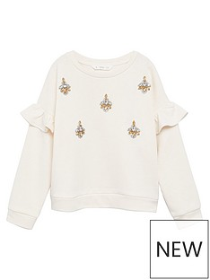 mango-girls-jewel-sweatshirt-cream