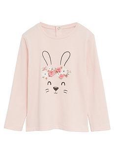 mango-baby-girls-bunny-long-sleeve-t-shirt-pink