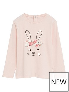 mango-baby-girls-bunny-long-sleeve-t-shirt-pink