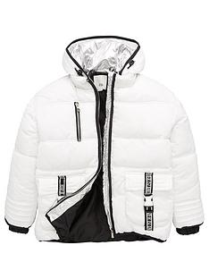 river-island-older-girlsnbsputility-padded-jacket-white