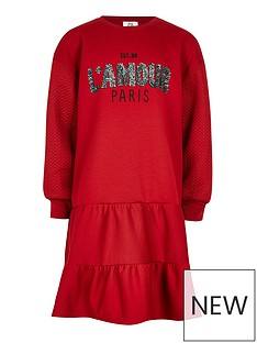 river-island-girls-peplum-sweat-dress-red