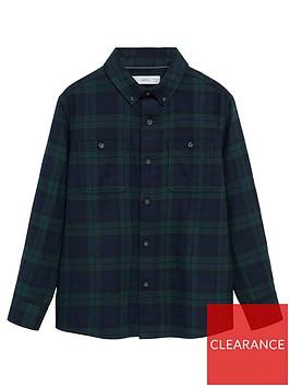 mango-boys-long-sleeved-checked-shirt-navy