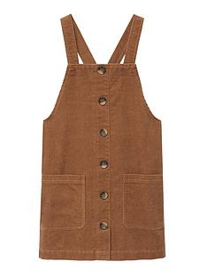 mango-girls-cord-pinny-brown