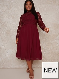 chi-chi-london-curve-ella-louise-dress-red