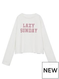 mango-girls-lazy-sunday-sweatshirt-white