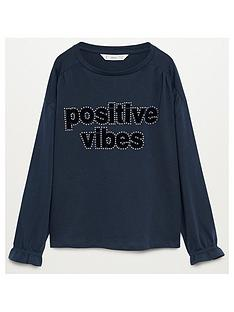 mango-girls-positive-long-sleeve-t-shirt-navy