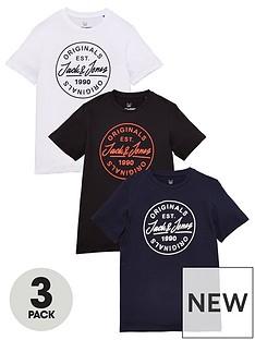 jack-jones-junior-boys-3-pack-originals-t-shirts-multi