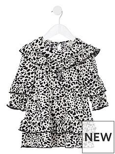 river-island-mini-mini-girls-leopard-frill-dress-black