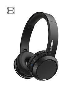 philips-philips-tah4205-wireless-bluetooth-headphones-with-bass-boost-button-matte-black