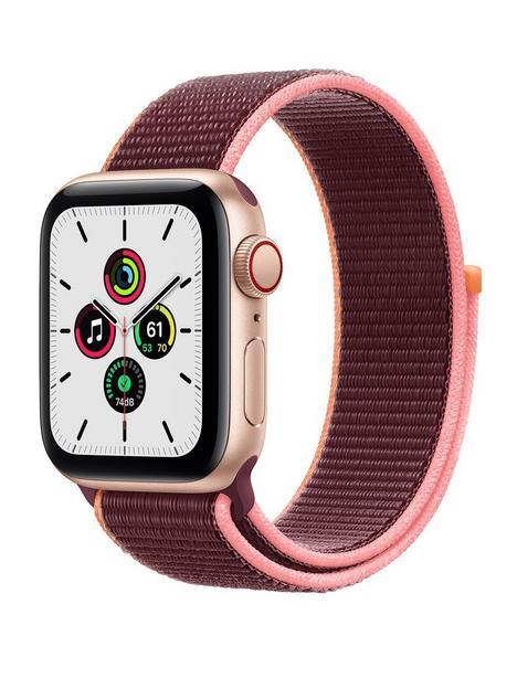 apple-watch-se-gps-cellular-40mm-gold-aluminium-case-with-plum-sport-loop