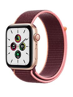 apple-watch-se-gps-cellular-44mm-gold-aluminium-case-with-plum-sport-loop