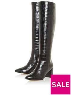 dune-london-saffia-crock-knee-high-heeled-boot-black