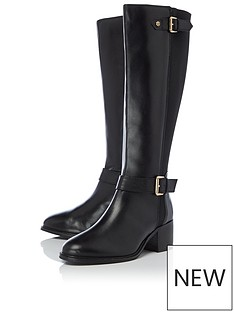 dune-london-tildas-knee-high-heeled-riding-boot-black