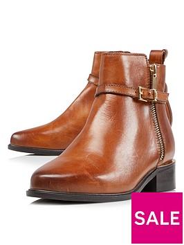 dune-london-pop-side-zip-ankle-boot-tan