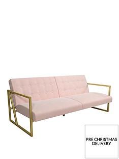 cosmoliving-by-cosmopolitan-lexington-modern-fabric-futon-sofa
