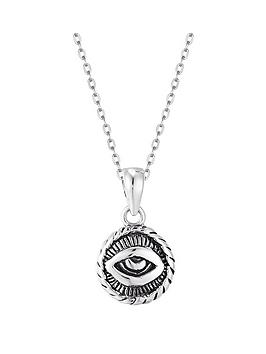 the-love-silver-collection-sterling-silver-evil-eye-pendant-necklace
