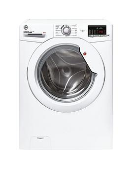 Hoover H-Wash 300 H3W 482De 8Kg Load Washing Machine With 1400 Rpm Spin - White