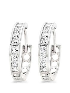 beaverbrooks-9ct-white-gold-cubic-zirconia-hoop-earrings