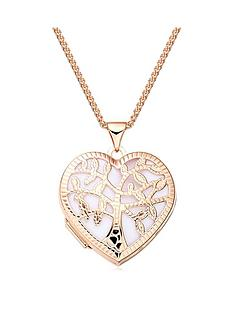 beaverbrooks-rose-gold-plated-silver-tree-locket