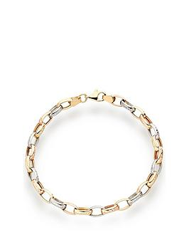 beaverbrooks-9ct-gold-rose-gold-and-white-gold-bracelet