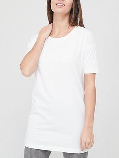 v-by-very-valuenbspthree-quarternbspsleeve-tunic-white