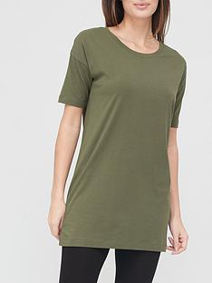 v-by-very-valuenbspshortnbspsleeve-tunic-khaki