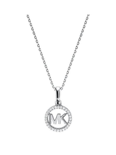 michael-kors-logo-stainless-steel-necklace