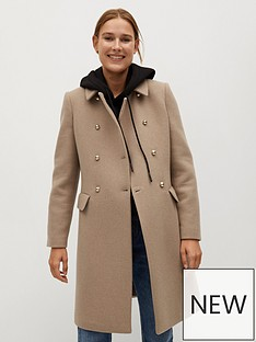 mango-wool-gold-double-breasted-coat-brown