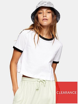 topshop-ringer-t-shirt-whiteblack