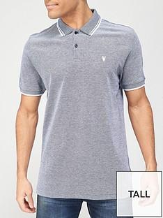 very-man-tall-birdseye-pique-polo-shirt-navy